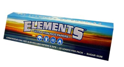 Elements King Size Ultra Slims Connoisseur Rolling Papers & Tips