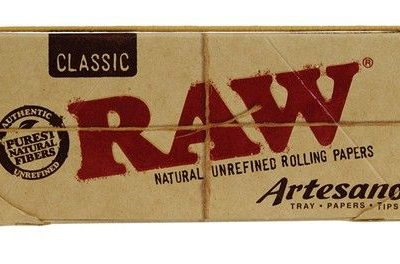 Raw Classic Kingsize Slim Artesano Papers+Tips