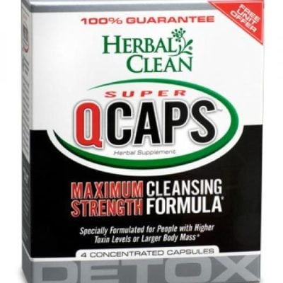 Herbal Clean Super QCaps Maximum Strength Cleansing Formula
