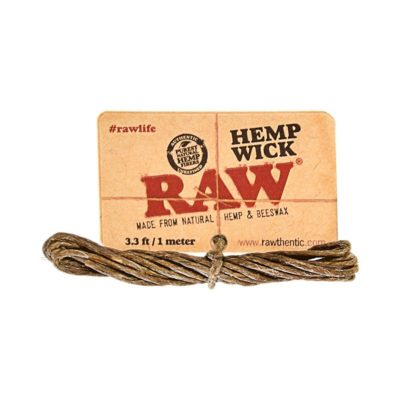 RAW Hemp Wick 1mtr