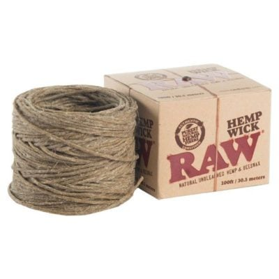 RAW Hemp Wick Ball 100ft