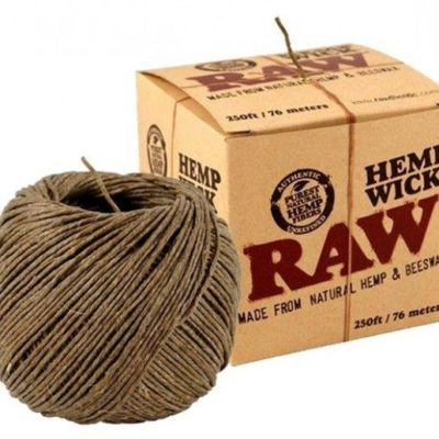 RAW Hemp Wick Ball 250ft