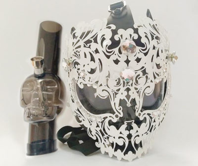 Acrylic Bongs - Iron Art Gas Mask Bong
