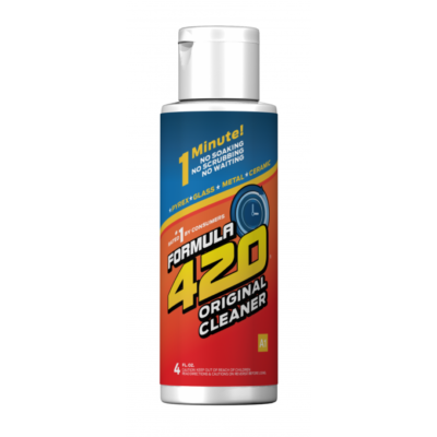 FORMULA 420 PYREX-GLASS-METAL-CERAMIC CLEANER 4OZ