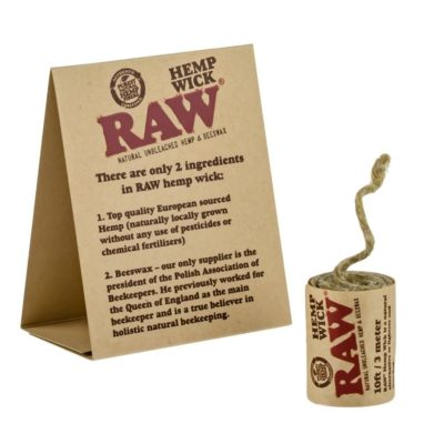 Raw Natural Hemp Wick 10Ft/3Mtr