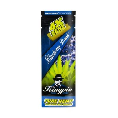 Kingpin Hemp Blueberry Bomb 4pk