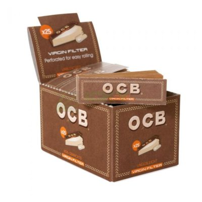 OCB Virgin Paper Tip 50pcs