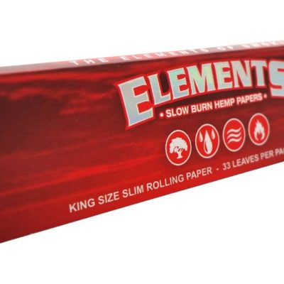 Elements Red Connoisseur King size paper + Tips
