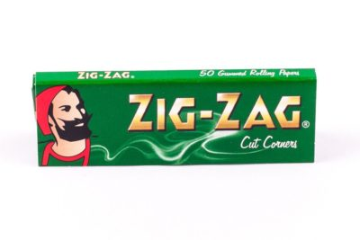 Zig-Zag Green Cut Corners