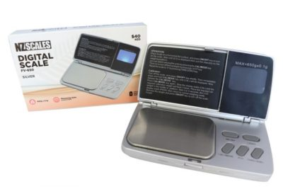 NZ Digital Scale FV-650 Silver 650 x 0.1