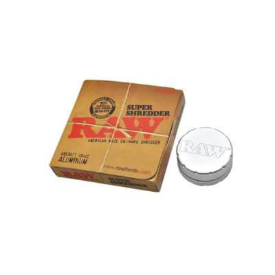 Metal Herb Grinders - Raw Rolling Papers Super Shredder