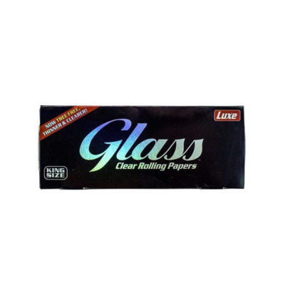 LUXE GLASS King Size Transparent Rolling Paper