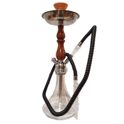 Shisha Pipes - Lawless Glass Hookah Zinc 1xHose 45cm