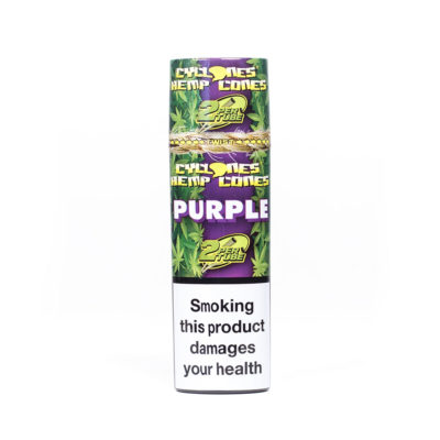 Cyclones Hemp - Cyclone Hemp Purple 2pk