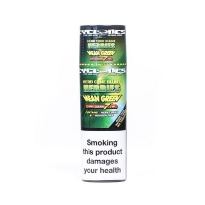 Cyclones Hemp - Cyclone Herbies Mean Green 2pk