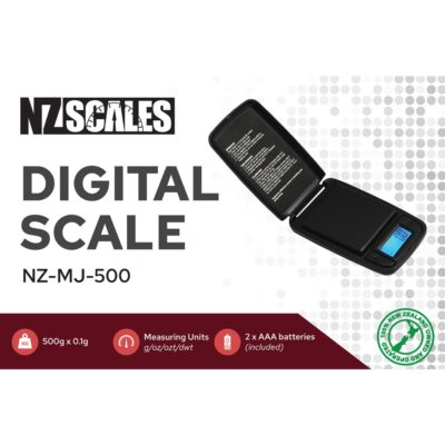 Digital Scales - NZ Pocket Scale for herb NZ-MJ-500 500 x 0.1g