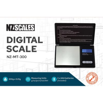 Digital Scales - NZ Pocket Scale for herb NZ-MT-300 300 x 0.01g