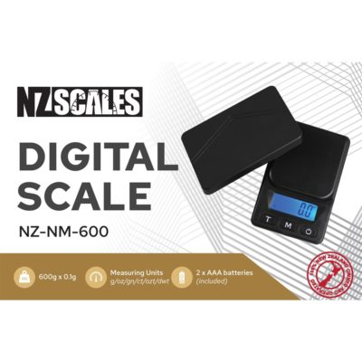Digital Scales - NZ Pocket Scale for herb NZ-NM-600 600 x 0.1g