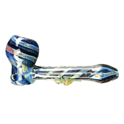 Glass Smoking Pipes - Glass Dokha Apple Pipe With Little Spider JL-411