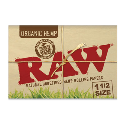 RAW Papers - RAW Organic 1 1/2 Hemp Papers
