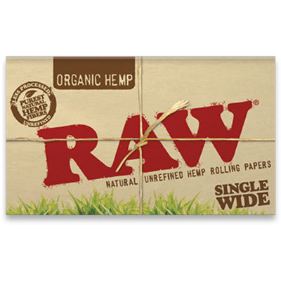 RAW Papers - RAW Organic Paper Single Wide