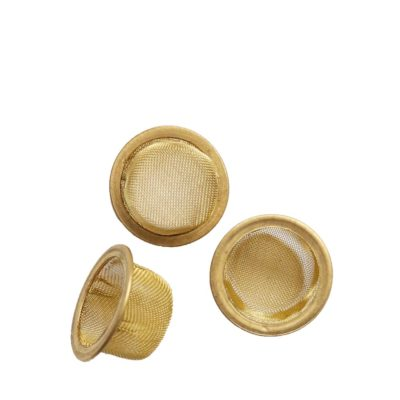 Vaporent Accessories - Mesh Crystal Brass 16mm 3 pieces For Vaporizers