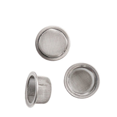 Vaporent Accessories - Mesh Crystal Stainless Steel 16mm 3 pieces For Vaporizers